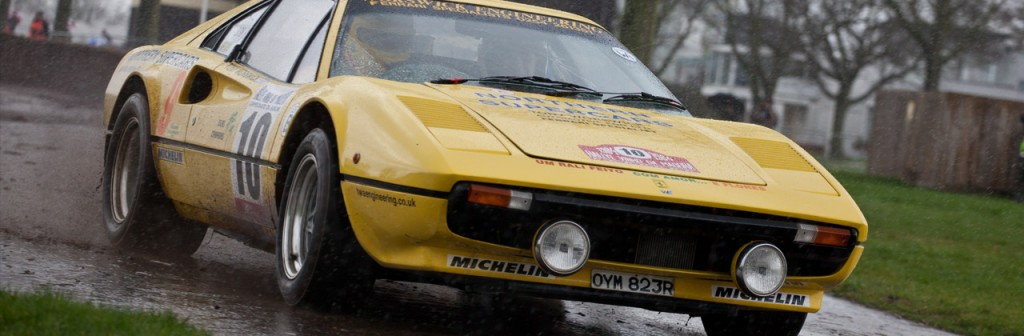 1986 Ferrari 308 GTB driven by Tony Worswick during Race Retro a