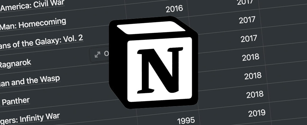 Setting up your first relationship in Notion